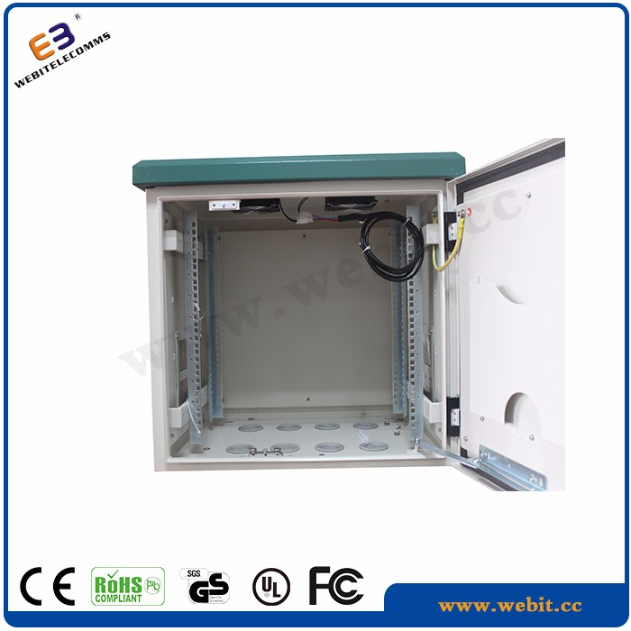 IP55 outdoor pole cabinet+network & telecommunication equipments outdoor cabinets for pole mount