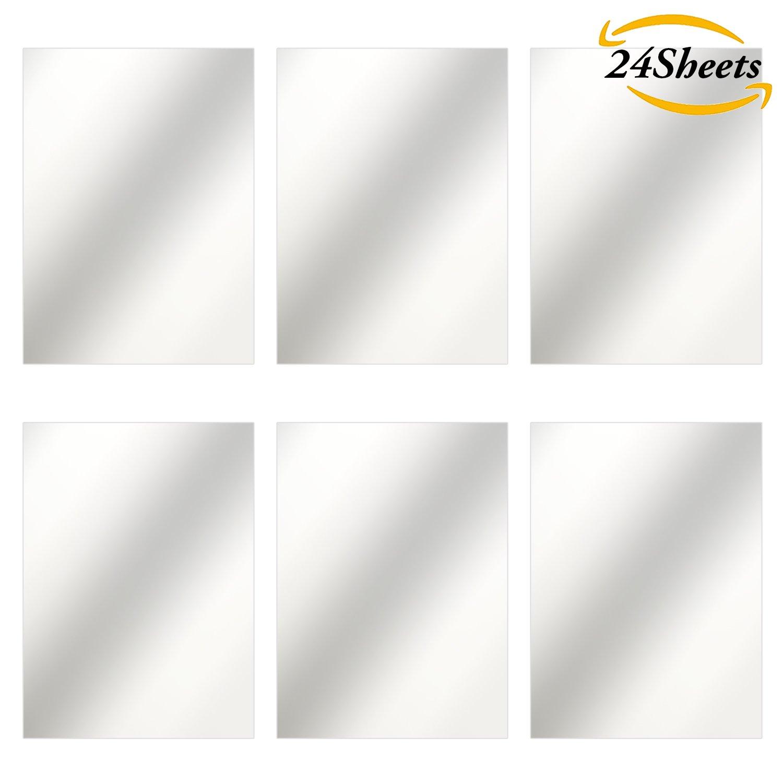 Hunkydory Mirri Matts 75 Mirri Sheets in Gold 7x7 Mirror Board MCDM111