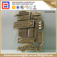 Home Decoration Nice Gifts Items Metal/Zinc Alloy Custom Souvenir Bookmark