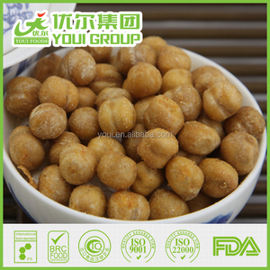 Wasabi Flavor Fried Chickpeas Wholesale