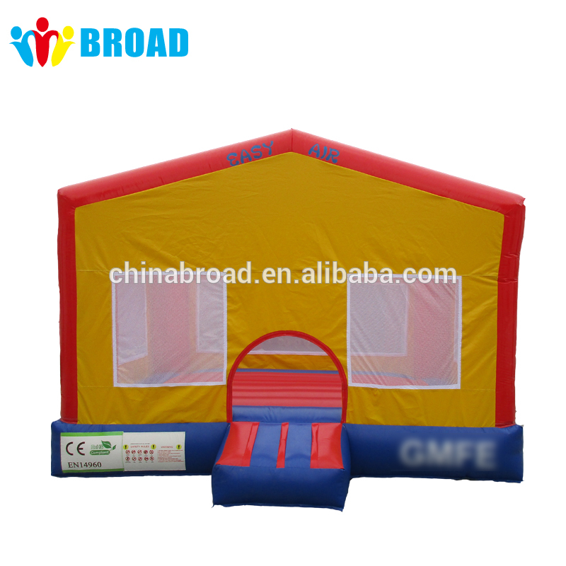 Star-war inflatable castle/ jumping plastic castle inflator for castles