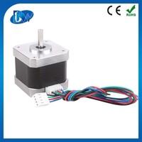 Nema 17 2 phase 12v dc hybrid stepper motor for 3d printer