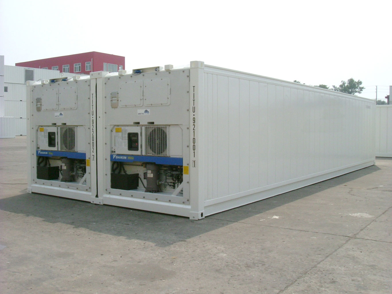 Standard  Brand New 20FT 40FT Reefer Refrigerated Container Cheap Price