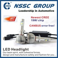 Newest Brightest 9000LM CREE XHP50 LED Headlight Conversion Kit H8 Replaces Car Truck Halogen & Xenon HID light Bulbs