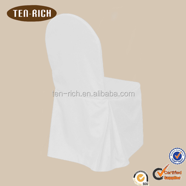 polyester universal chair cover white