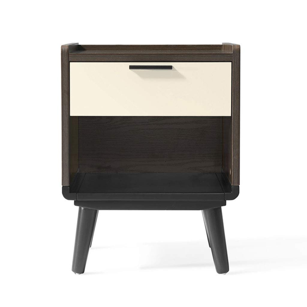 Nightstands Bedside Table Bedroom Solid Wood Foot Bedside Table Home Mini Locker Bedside Small Cabinet Furniture (Color : Brown, Size : 413954cm)