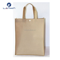 High quality custom NON WOVEN bag nonwoven material shopping handle bag