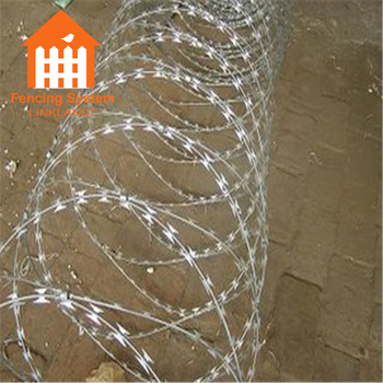 Razor Wire Mesh Steel Fence For Boundary Wall - Buy Steel Fence,Mesh ...