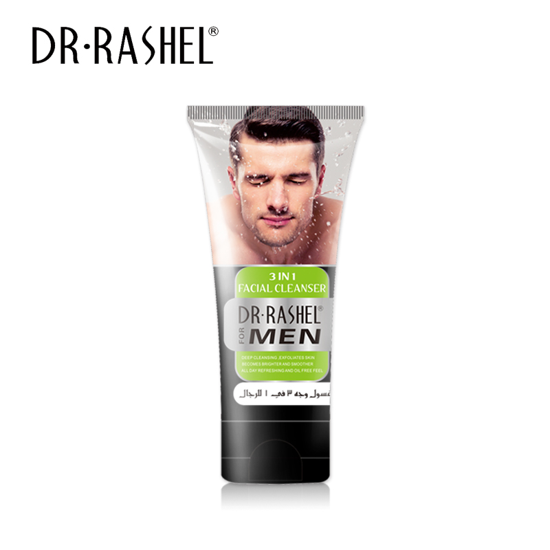 Moisture Deep Cleansing Face Wash 3 in 1 Men Facial Cleanser