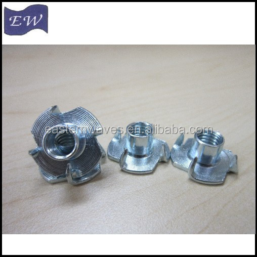 4 prong tee nut,t nuts m10(DIN1624)