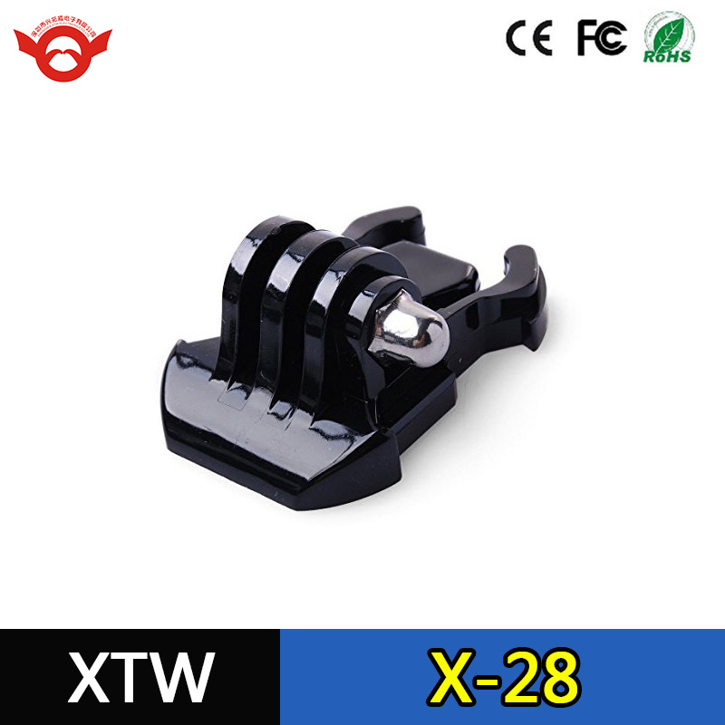 Action camera accessories black buckle adapter basic mount for sport camera GP06