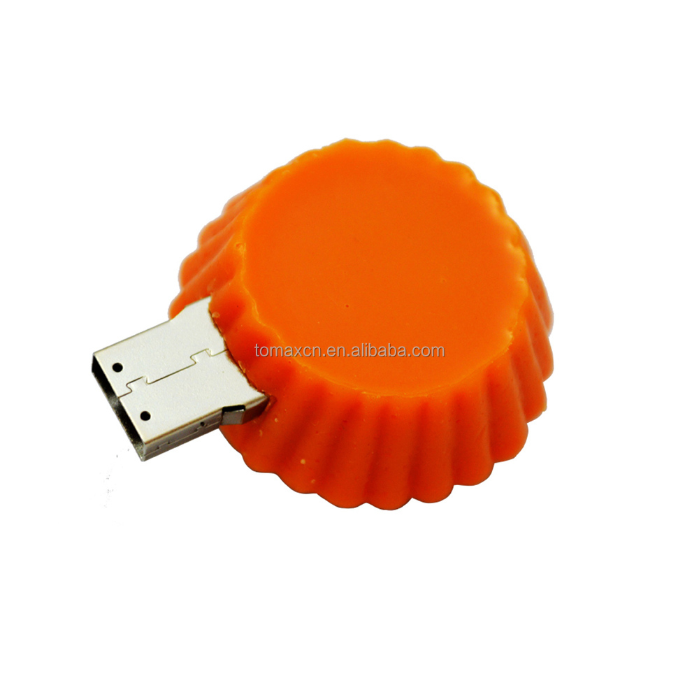 New simulate food egg tart usb key flash drive for giveaways gift