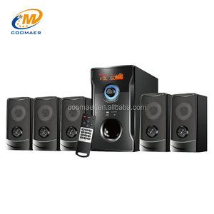 Low Price Wireless Classic DJ Bass Speaker 5.1 Home Theater System With Bluetooth