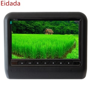 9 inch HD800*480 Back Seat Car Headrest AV Monitor support connect DVD for Car Lcd Widescreen