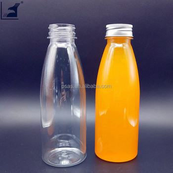 China manufacturer empty water juice plastic bottle BPA free