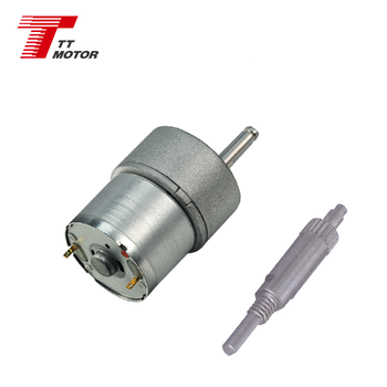 6v 12v electronic DC gear motor GM27-320SH china supplier
