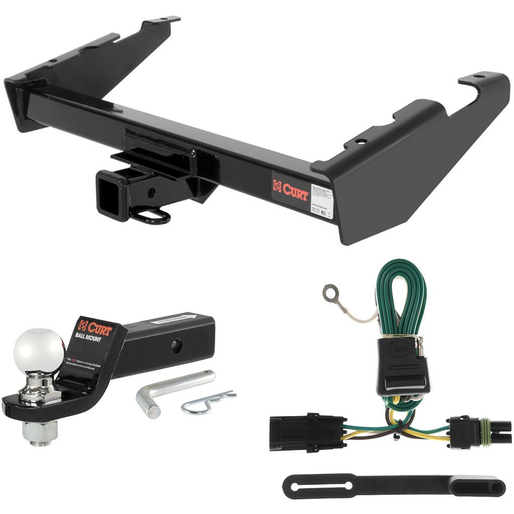"""CURT Class 3 Tow Package with 2-5/16"""" Ball for Chevrolet Suburban, GMC Suburban"""