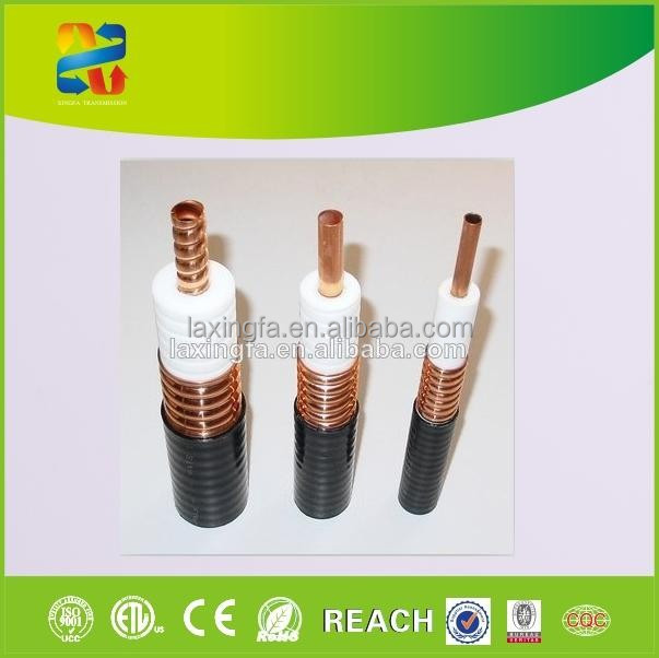 "China high quality 50 ohm coaxial cable feeder cable 1/2"" rf cable price with RoHS, CE, ETL compliant"