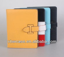 cute leather case for ipad 2, fancy case for ipad 3, tablet cover for ipad 2/3/4