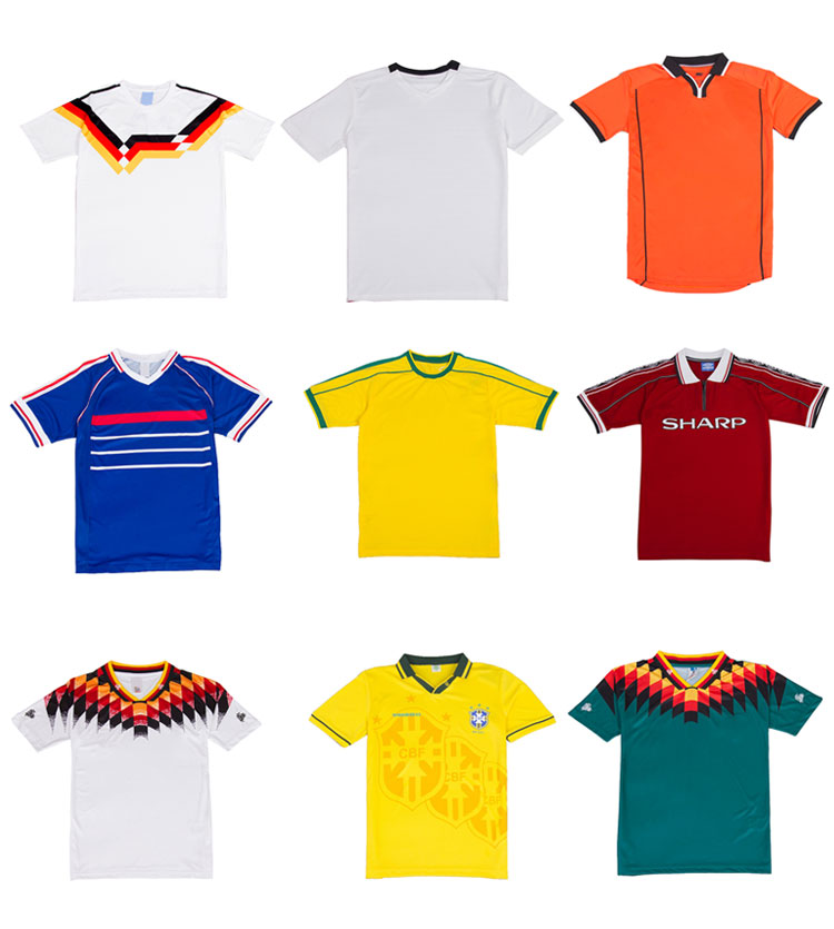 Silongprince 100% Polyester Breathable OEM football jersey new model club soccer jersey