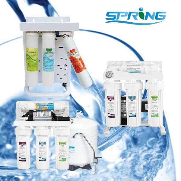 Residential water filter reverse osmosis