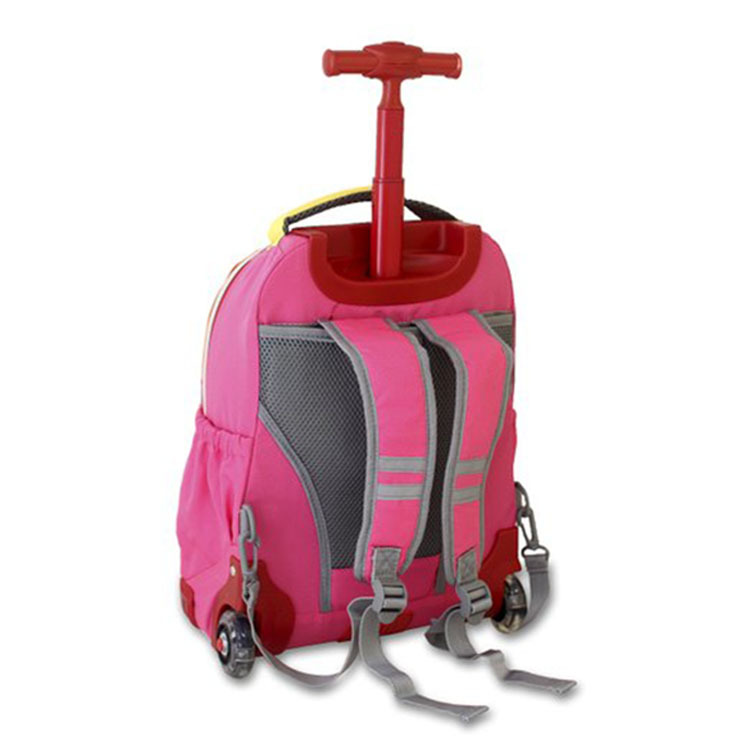 New Products Kids Rolling Backpack With Lunch Bag, School Backpack Set