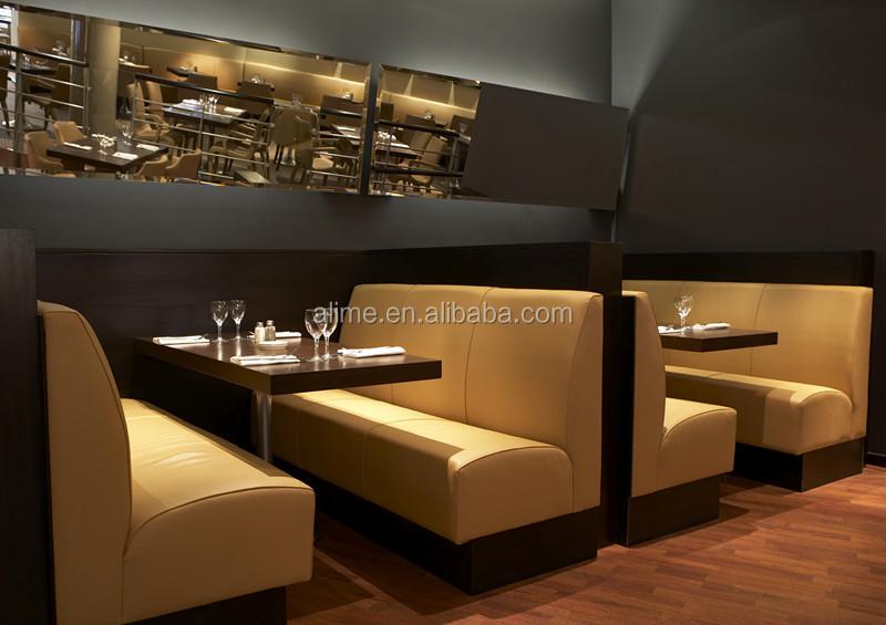 Alime custom restaurant booth set buy restaurant booth for Banquette restaurant