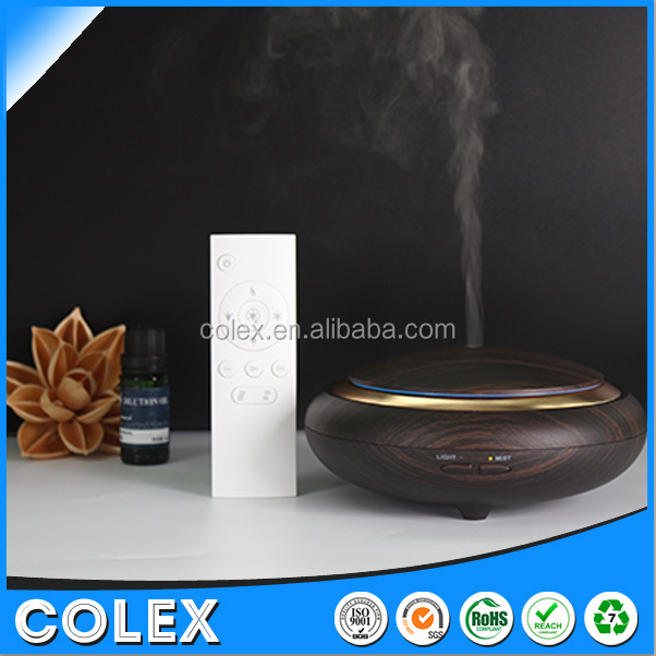 Wholesale aromatherapy ultrasonic essential oil aroma diffuser wood grain diffusers