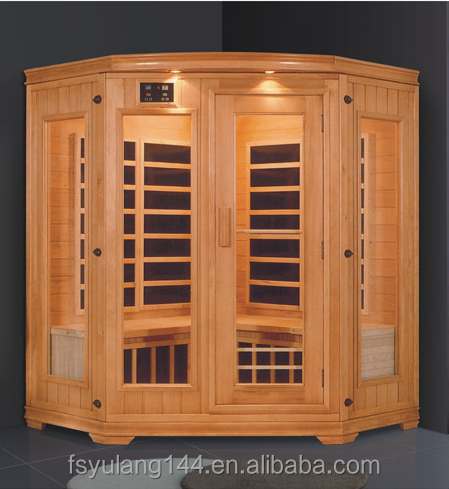 AD-958 China factory supply fashionable diamond portable dry steam far infrared sauna