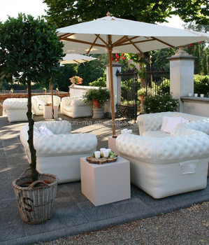Modern Garden Furniture Outdoor Air Filled Sofa Couch ...