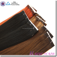 Hair Factory ,double drawn remy wholesale price virgin remy hair weaving 99j
