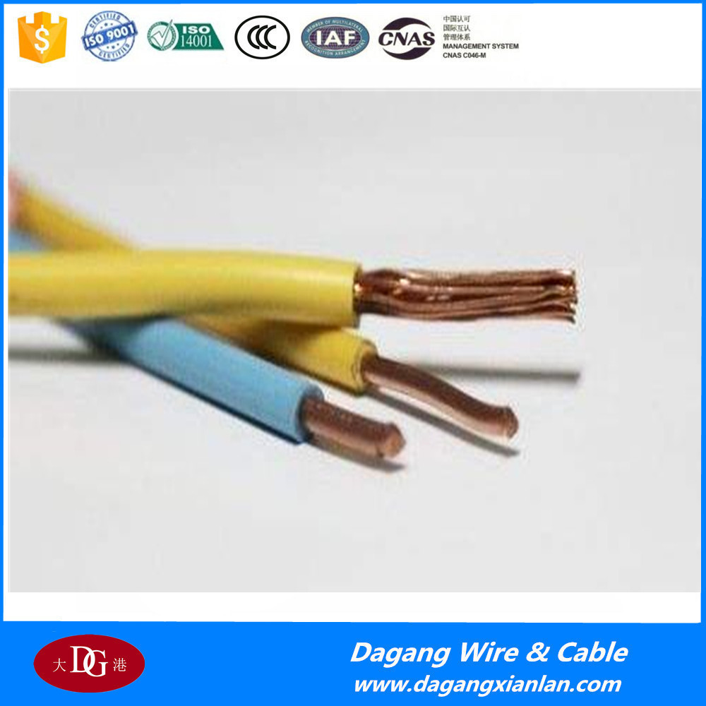 Price List Of Wire Electrical House Wiring Copper Core Pvc Insulated Cable