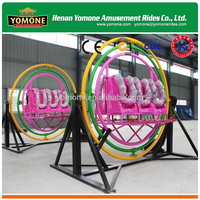Outdoor Amusement Equipment Human Gyroscope Spaceball Ride for Adult