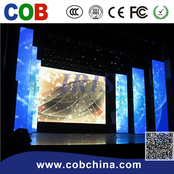 P3.91/P4.81/P.5.68/P6.25 indoor LED Advertising Screen with long lifespan and high resolution move for stage use