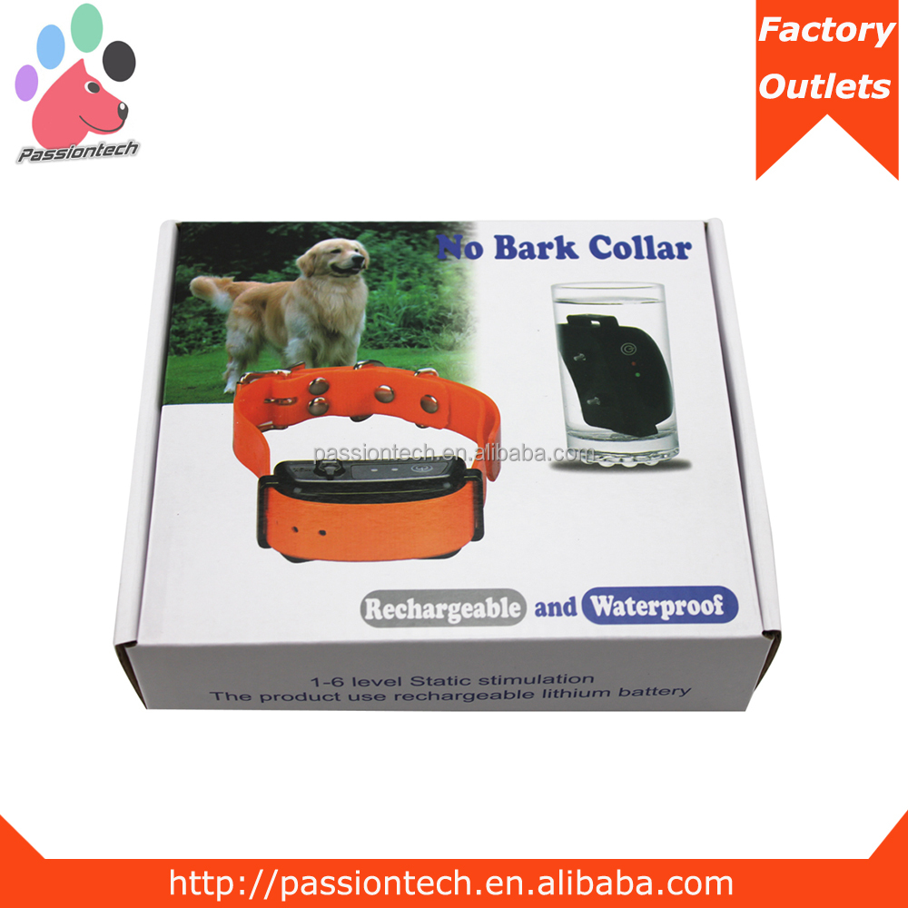 Newest no barking collar X888 electric no bark collar stock lot for sale
