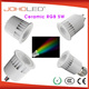 Dimmable LED GU10 5W RGB with remote control;AC110V/220V input