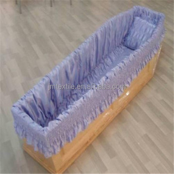 Coffin Lining Fabric,Casket Interiors And Coffin Liner - Buy Casket Lining  Fabric,Casket Interior Lining,Stain Fabric Coffin Lining Product on