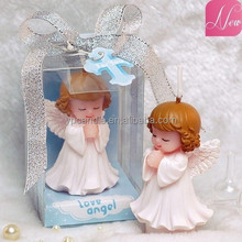 angle baby birthday candle/church candle party decoration