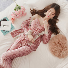 45d31e486e Velvet Pyjama Set Wholesale