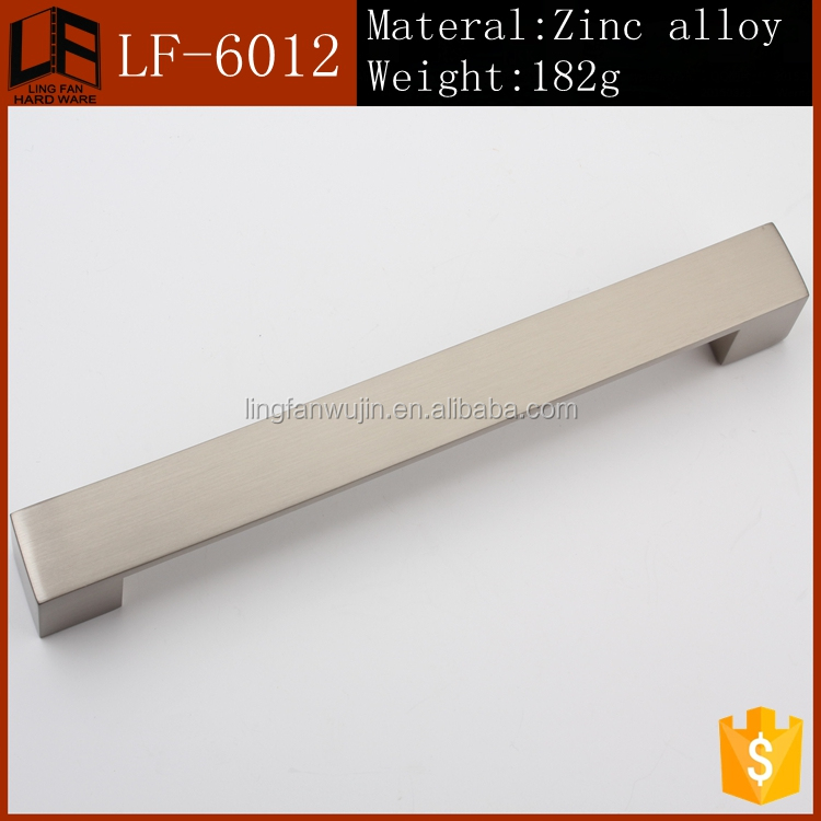 Kitchen Cabinet Wood Handles/Small Zinc Alloy Long Handles