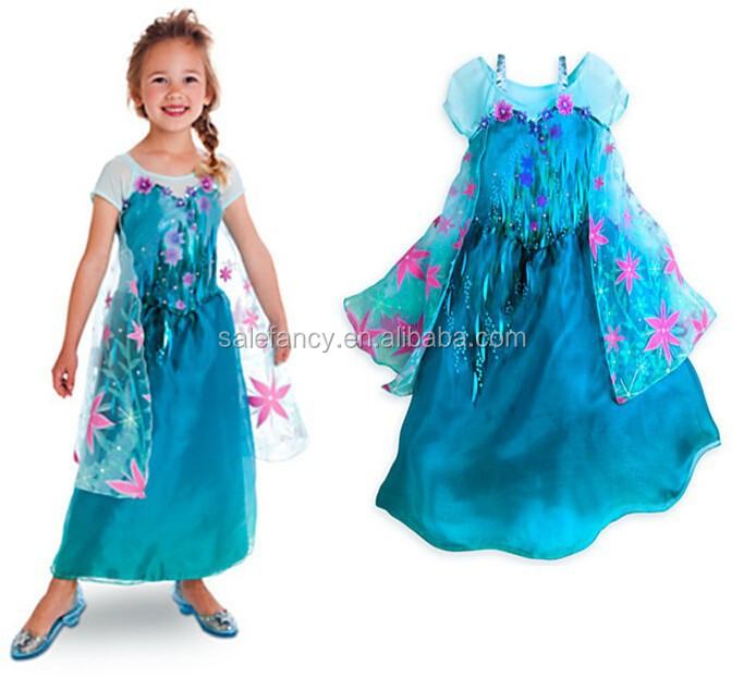 ee0e95992189 Quinceanera Dresses Little Girls Frozen Princess Elsa Costume Qkc-2609 -  Buy Frozen Princess Elsa Costume
