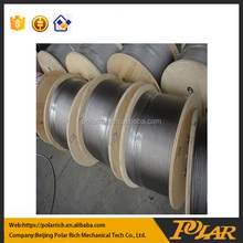 Galvanized flexible steel wire ropes