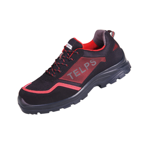 Ultra light ventilated women PPE steel toe safety shoes