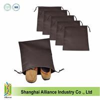 wholesale drawstring shoe bag matching shoe and bag set