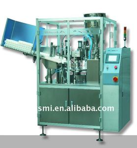 ointment filling and sealing machine