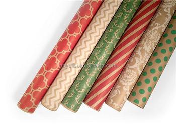 Hot Ing Brown Kraft Christmas Wring Paper With Low Price