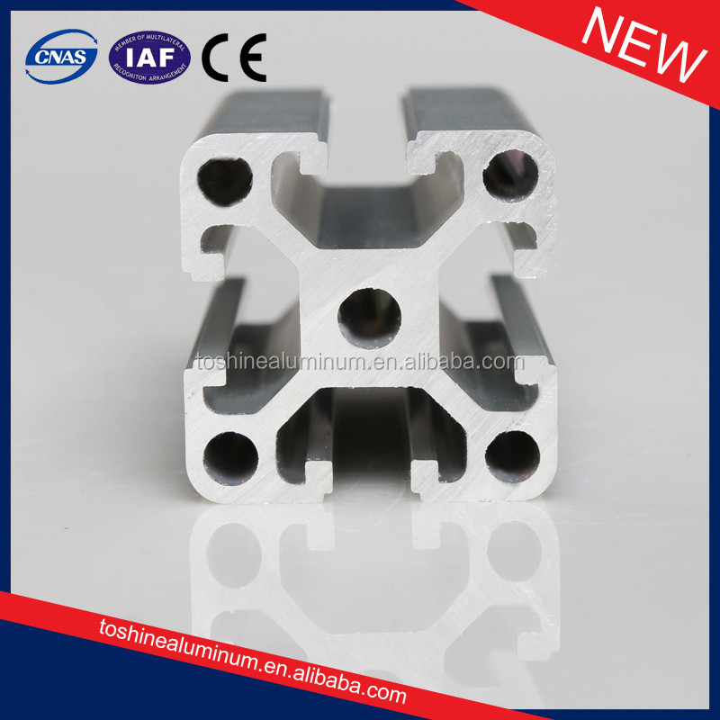 Anodizing Extruded Profiles Aluminium CNC Alu Profile for industry frame
