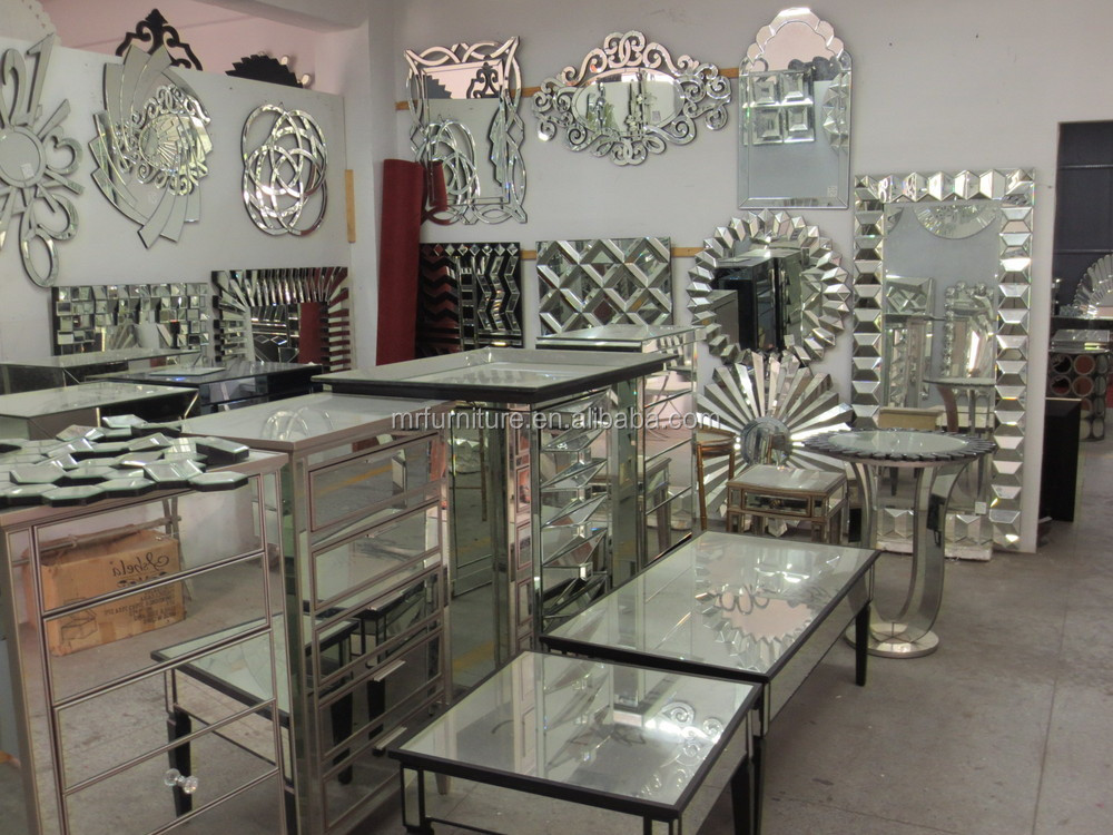 Mirrored Tv Stand Mirrored Buffet Mirrored Vanity Table Sideboards And Buffets Modern Silver