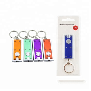 keychain electronics promotional items new products key chain mini small LED flashlights torch promotion gift light