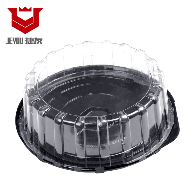 Disposable Round Packaging Plastic sushi box wholesale